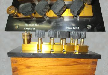 Resistance Boxes Plug Type - Bakelite; Constantan Coil; Manganin Coil