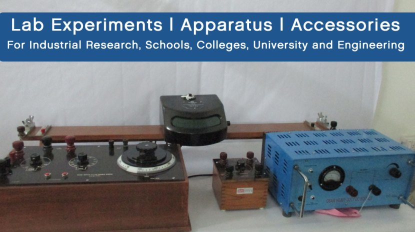 Lab Experiment, Apparatus and Accessories
