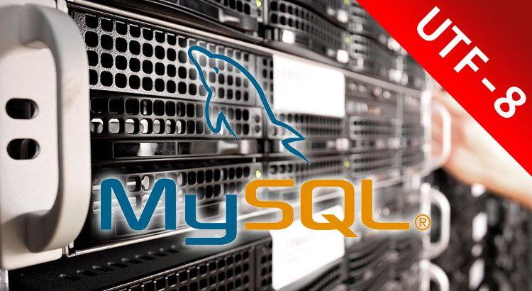 Importación MySQL con UTF-8