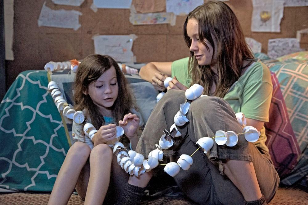 Jacob Tremblay ve Brie Larson (Room)