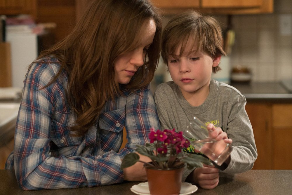Brie Larson ve Jacob Tremblay (Room)