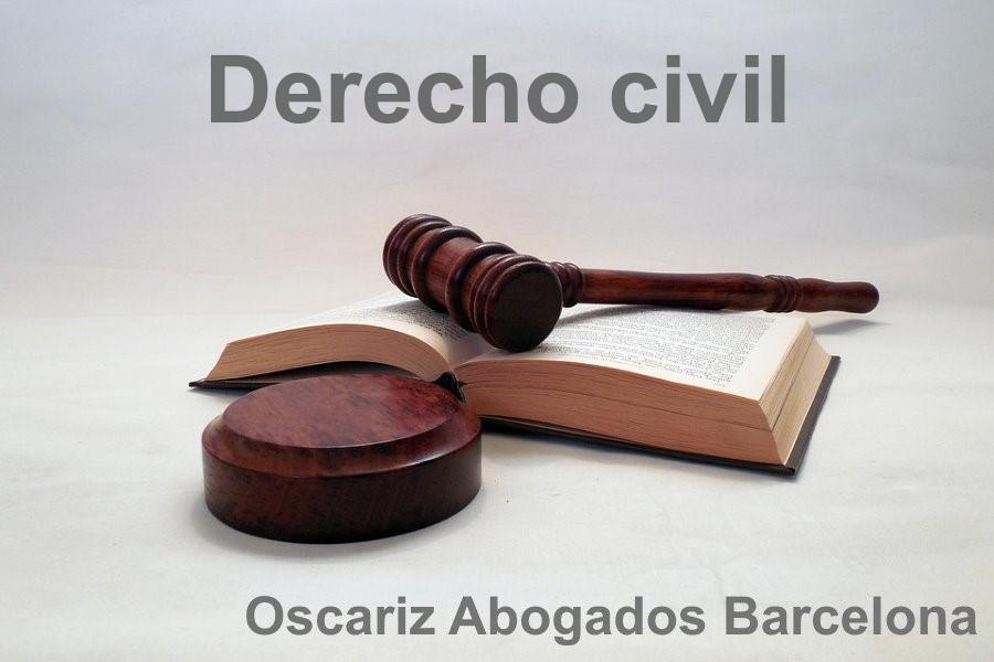 Derecho Civil. Especialidad de Oscáriz Abogados de Barcelona