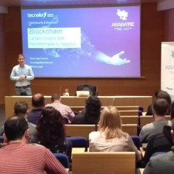 Oscar Lage conferencia ArabaTIC 2019 Blockchain