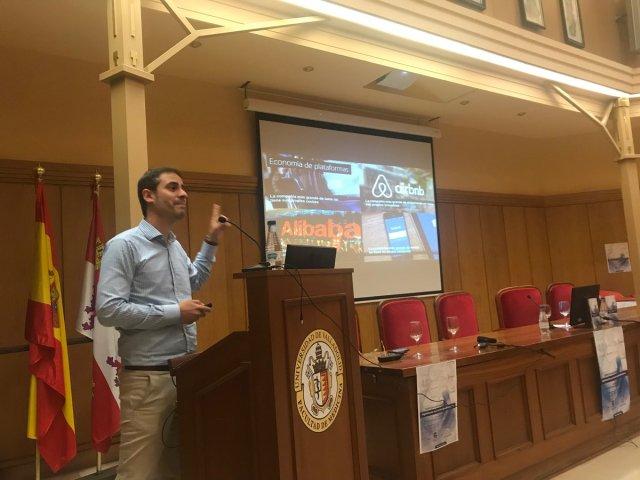 Oscar Lage, conferencia blockchain aplicado a la industria agroalimentaria en Acta/CL