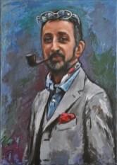 Alberto, Acrylic on canvas, cm.50x70, 2016
