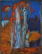 ARTIFICIO, Acrylic on canvas, cm.41x32, 2014
