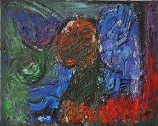 EMOZIONI, Acrilico su tela, cm.45x50, 2016