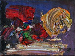 Fiori, Acrilico su tela, cm.18x24, 2015