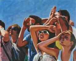 La ricerca, Acrylic on canvas, cm.80x100, 2011 ■