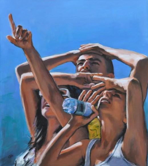 LOOK AT, Acrylic on canvas, cm.80z70, 2012
