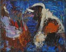 Magma, Acrilico su tela, cm.40x50, 2016