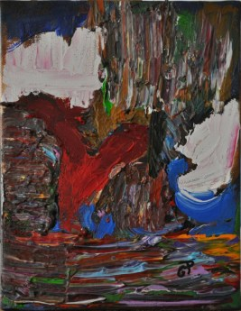 NATURA, Acrylic on canvas, cm.24x18, 2015