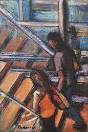 Studio per UP, Mixed technique on canvas, cm.20x30, 2010