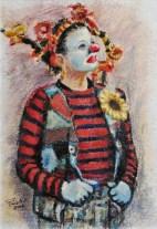 Olio su carta a mano, cm.52×36, 2008