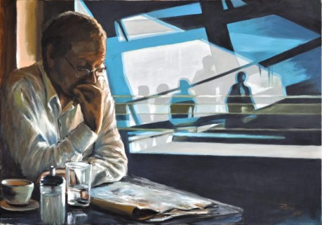 AIRPORT, Oil on canvas, cm.70x100, 2010 ■