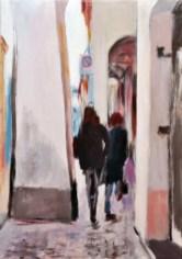 DI PORTICO IN PORTICO, Acrilico su tela, cm.50x35, 2011
