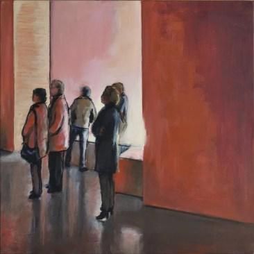 EXPO UP2, Acrylic on canvas, cm.40x40, 2016