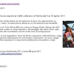 Eventi Parma - Mostra Caffè -Letterario