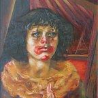 OCCHI BLU, Oil on canvas, cm 50X40, 1976 ■