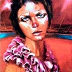 SENTIMENTO, Oil on canvas, cm 70×50, 1977 ■