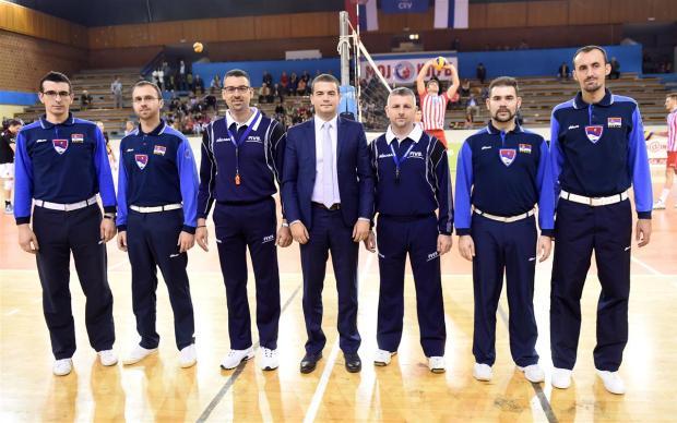 ivan boskovic cev supervisor oscg odbojka volleyball montenegro crna gora utakmica crvena zvezda valepa sastamala cev kup