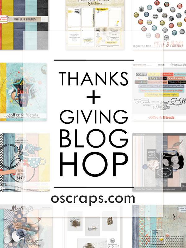 2015 Thanks + Giving Blog Hop