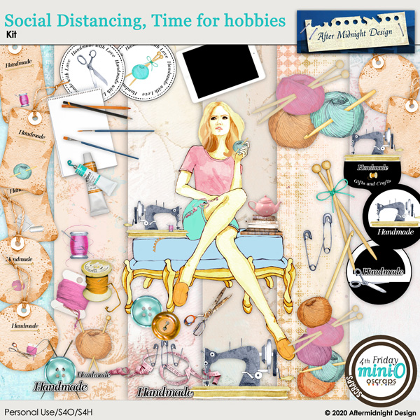 Social Distancing, Time for hobbies by After Midnight Design