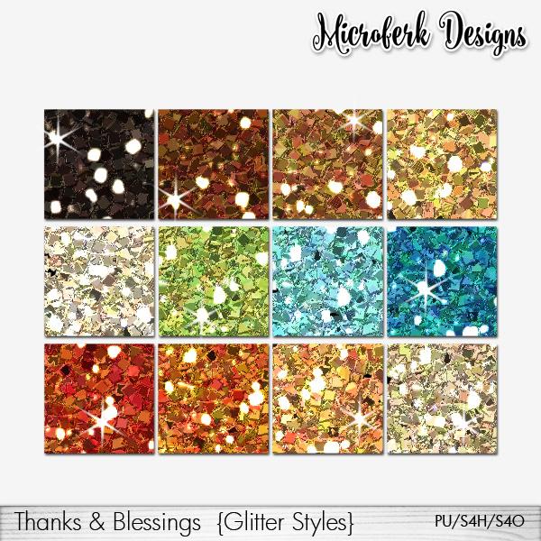 Glitter tools