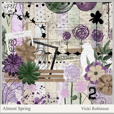 Almost Spring - Vicki Robinson