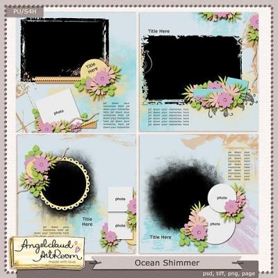 Ocean Shimmer from Angelaclaud ArtRoom