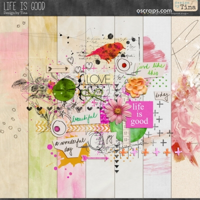 Life is Good from Design by Tina