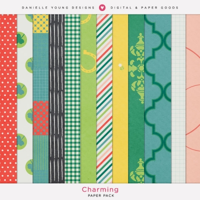 Danielle Young Designs - Charming Paper Pack