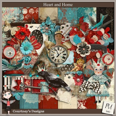 Heart and Home - Courtney's Designs