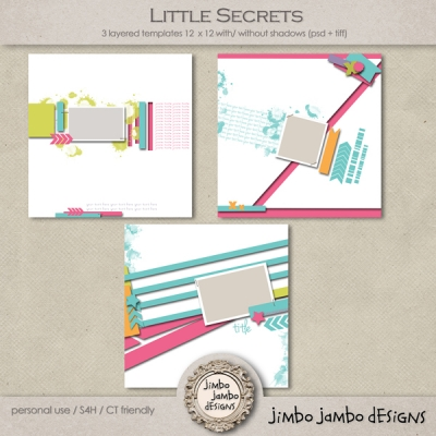 Little Secrets from Jimbo Jambo Designs