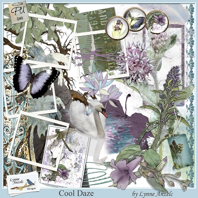 Cool Daze - Lynne Anzelc Designs