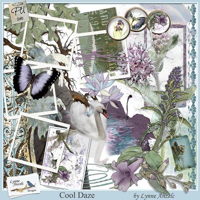 Cool Daze - Lynne Anzelc Designs