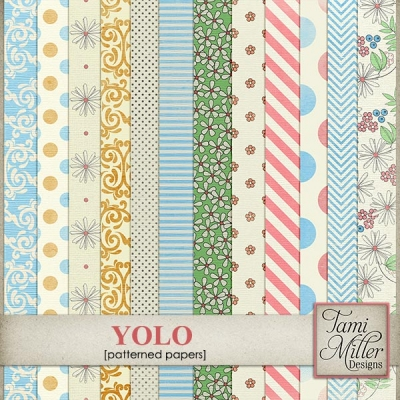 Yolo papers from Tami Miller Designs