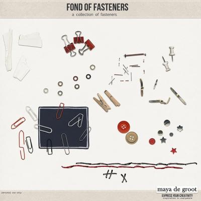 Maya de Groot - Fond of Fasteners