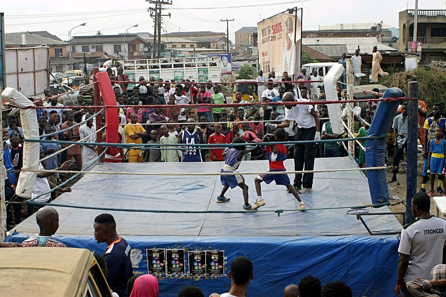 In Bukom, Boxing Is The First Love Of The Youth!
