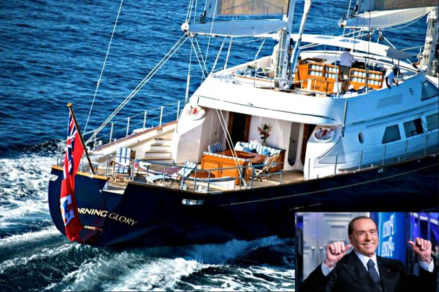 Former Italian Prime Minister Puts His Expensive Superyacht Up For Sale
