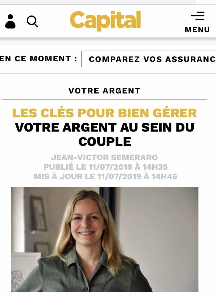 Les bons comptes font les bons amants, on en parle sur Capital.fr