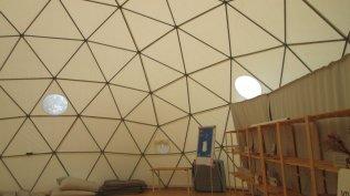 As tendas recebem acções de formação e eventos