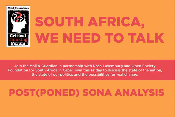 South Africa we need to talk OSF-SA Newsroom Open Society Foundation for South Africa