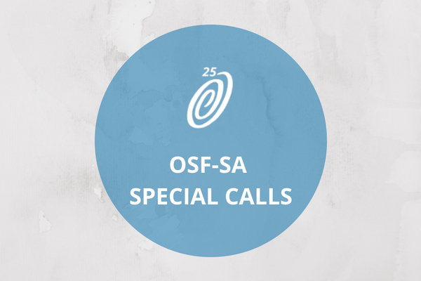 osf-sa special calls Open Society Foundation for SOuth Africa Newsroom