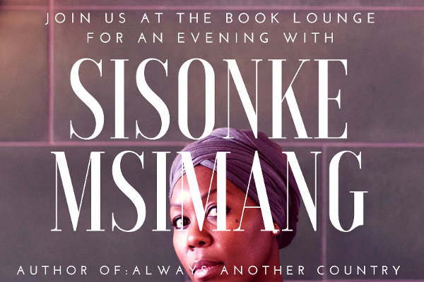 Always another country An Evening with Sisonke Msimang OSF-SA Newsroom Open Society Foundation for South Africa
