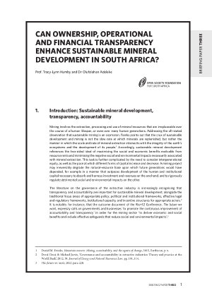 OSF-Extractives-Briefing-Paper-3_Can-Transparency-Enhance-Sustainable-Mineral-Resource-Development-in-South-Africa Open Society Foundation for South Africa OSF-SA Publications