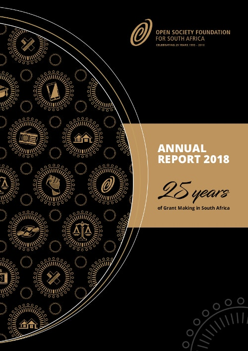 OSF-SA Open Society Foundation for South Africa Annual Report 2018