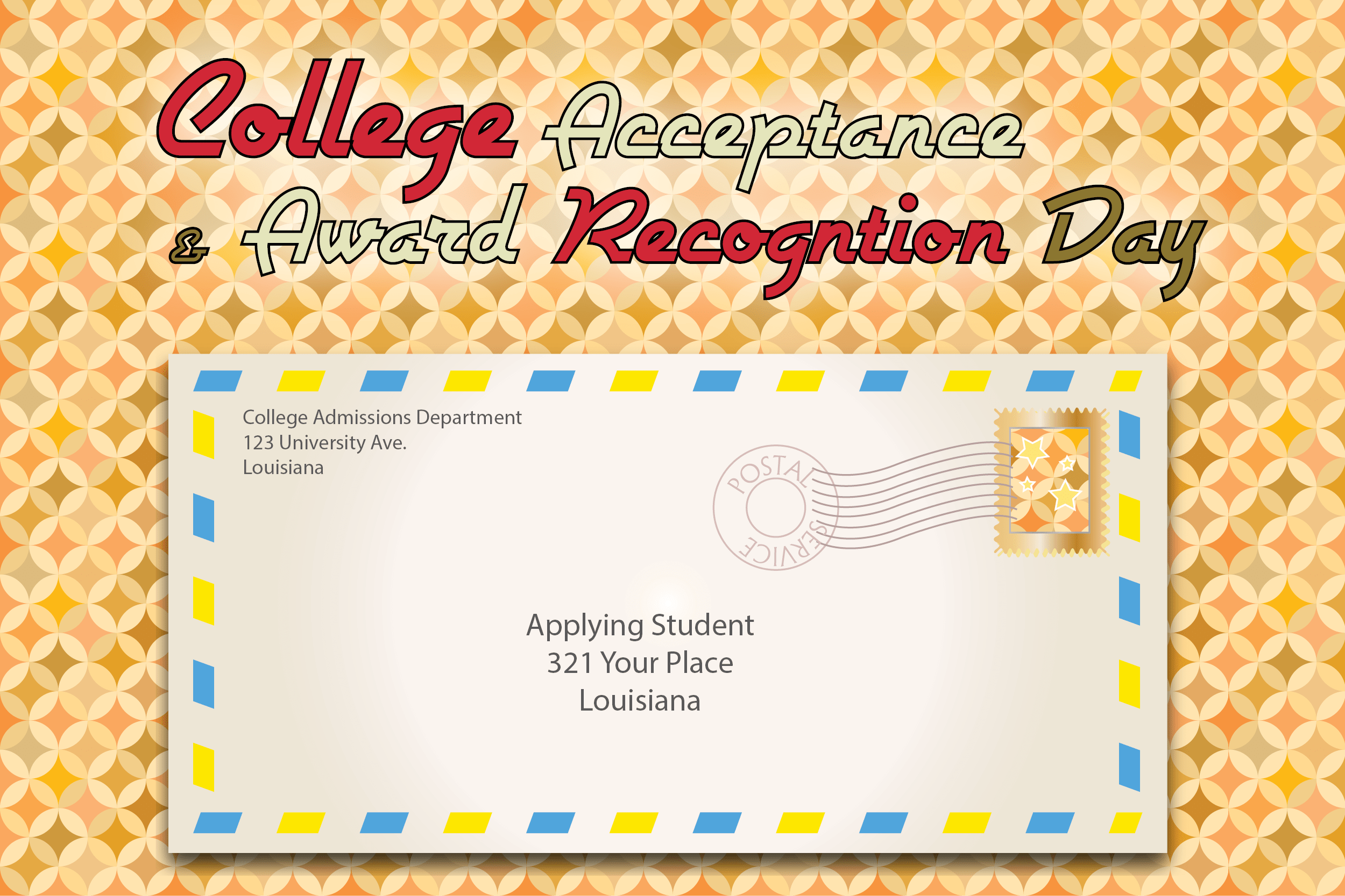 College Acceptance Day Page