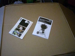 Verpackung Weber One Touch Premium Special edition