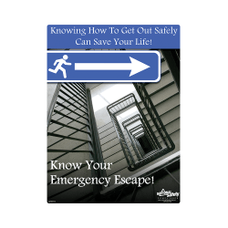 Emergency Escape Safety Poster